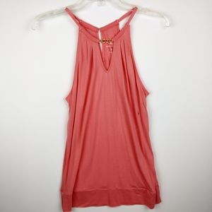 New York & Company Coral sleeveless blouse, Size S
